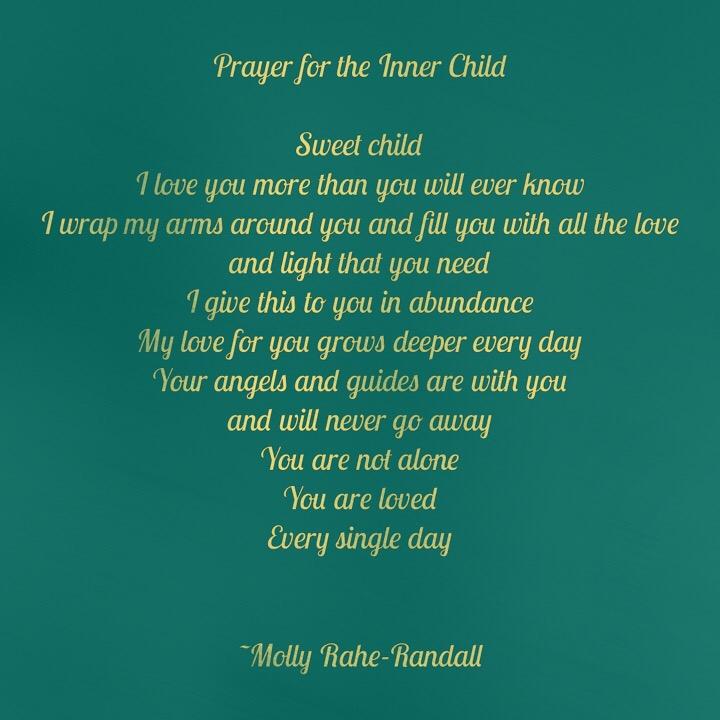Prayer for the Inner Child